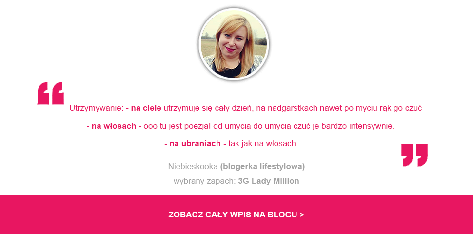 esencja perfum Lady Million Paco Rabanne