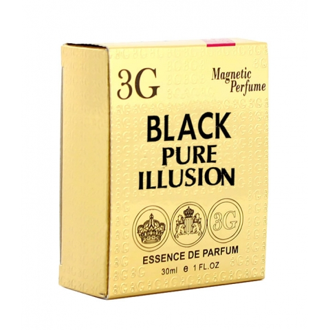esencja perfum 3G Magnetic Perfume Black Pure Illusion